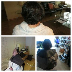 Behandeling oudere thuis GekniptenWel ambulante hairstyling