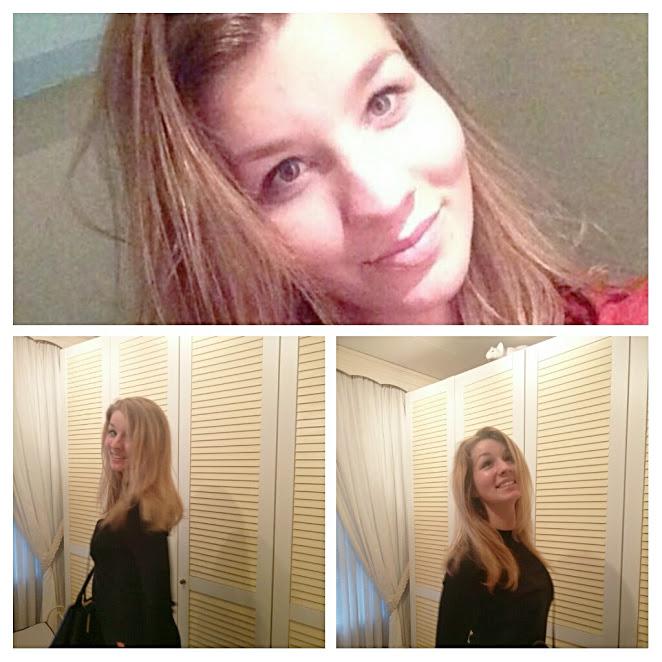Van bruin naar blond lang haar juni 2017 Linda Petrovic