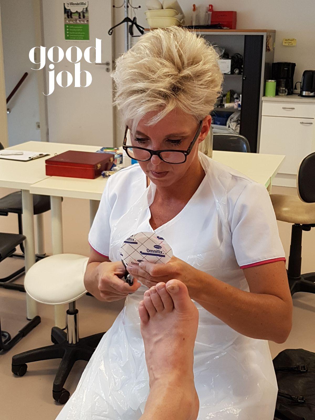 Monique Berlemon medisch pedicure GekniptenWel Team