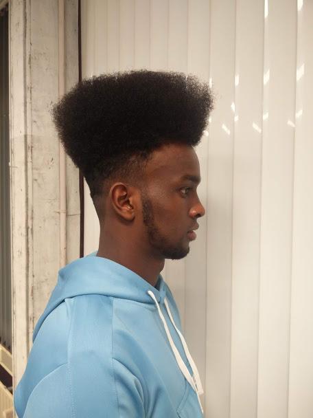 afro hair gekniptenwel